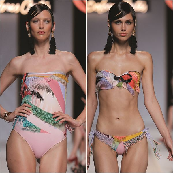 Dolores Cortes MB Fashion Week Madrid Moda Praia