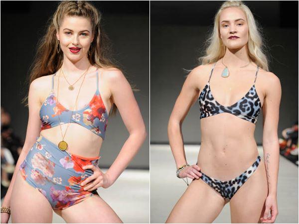 Honubelle na VFW SS18 - Moda Praia 2018 Honubelle - Vancouver Fashion Week SS18