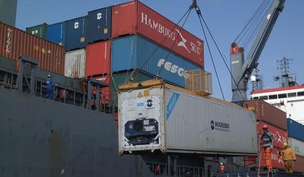 Porto - Exportacao - Exportacoes - Containers