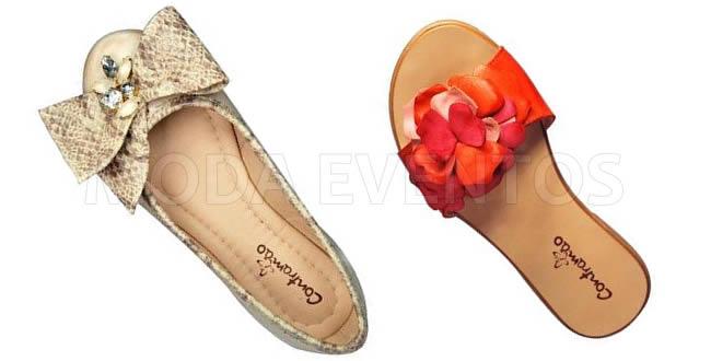 Contramão Calçados Femininos Moda Verão 2013 Moda Feminina Lançamentos SICC 2012