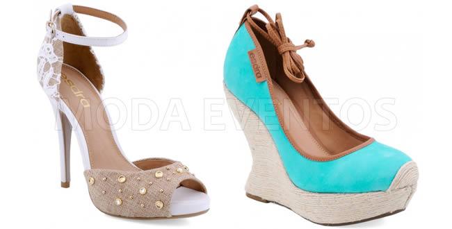 SICC 2012 Lançamentos - Coleção Verão 2013 Esdra calçados femininos
