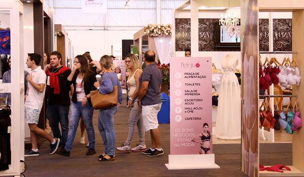 Felinju 2018 - feira de moda intima em Juruaia - Foto Viola Jr