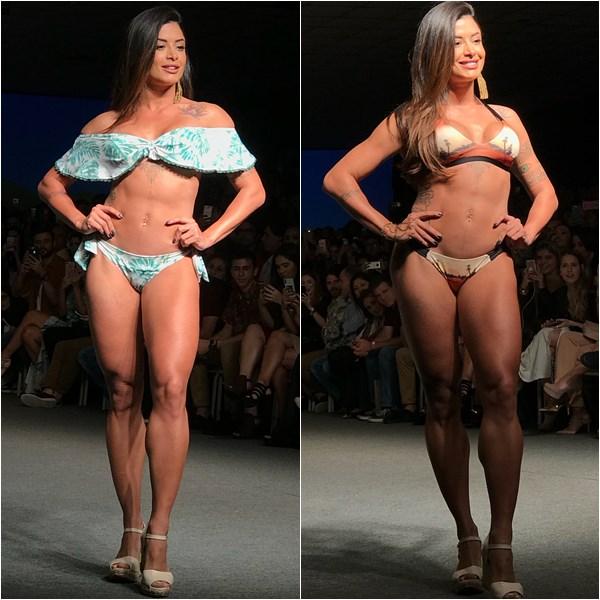 Aline Riscado no Vitoria Moda 2018