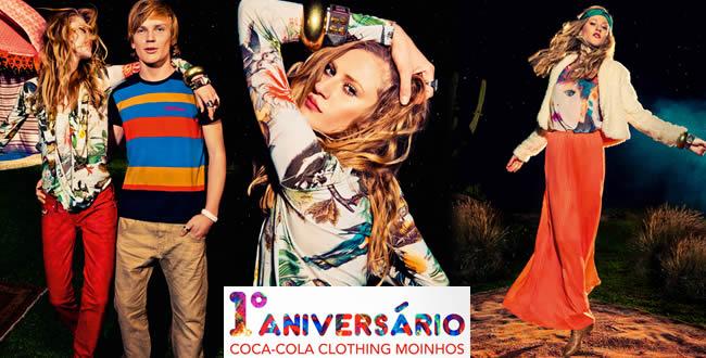 Loja Coca-Cola Clothing do Moinhos Shopping comemora um ano em Porto Alegre