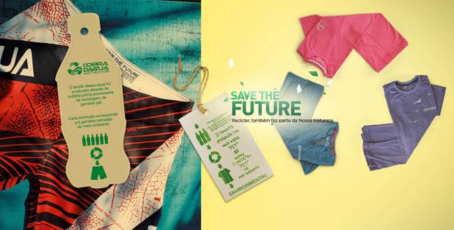 Vitória Moda Show 2012 – Cobra D'agua retira 100 mil pets do meio ambiente com a linha Save the Future