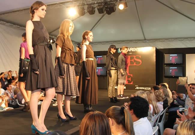 Revista Lançamentos promoveu desfile de moda na Feira Zero Grau 2012