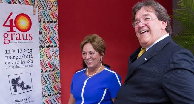 Feira 40 Graus começa em clima de otimismo e governadora do Rio Grande do Norte, Rosalba Rosado anuncia edição 2014