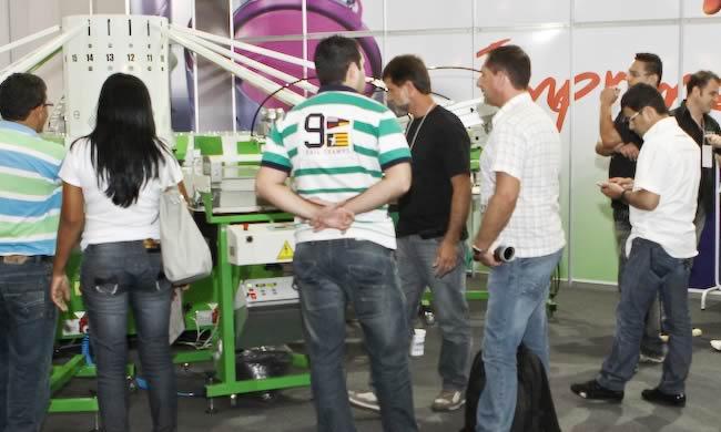 Tecnotêxtil Brasil 2013 - Expositores internacionais confirmam participação na Feira de Tecnologias para a indústria Têxtil