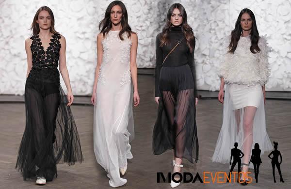 Mercedes-Benz Fashion Week de Berlim – Kaviar Gauche desfile coleção Outono Inverno 2014