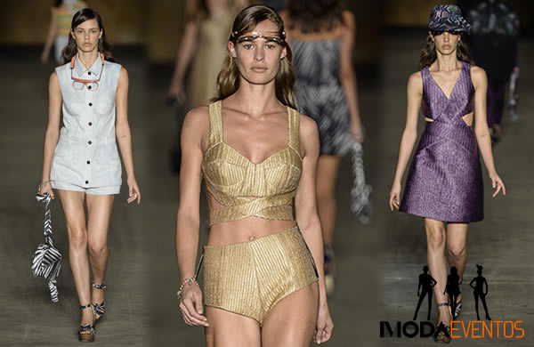 Desfile 2nd Floor moda verao 2015 no Fashion Rio 2014 00