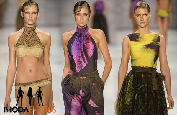 Desfile Lenny moda verao 2015 no Fashion Rio 2014 00