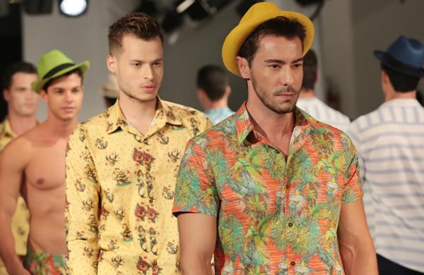 GoFashion 2014 - Desfile Quim Pra Homem Moda Verao 2015 00