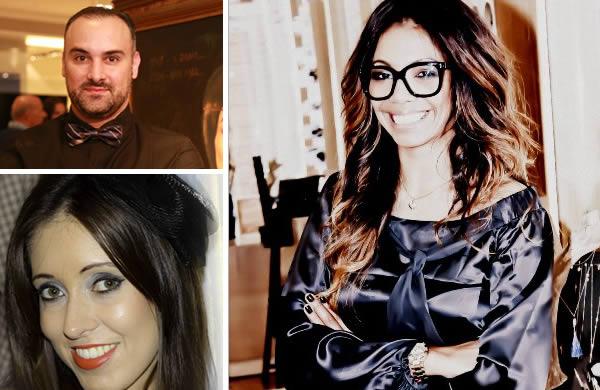 Lia Riguet Cristine Carvalho e Cristiano Rozzini