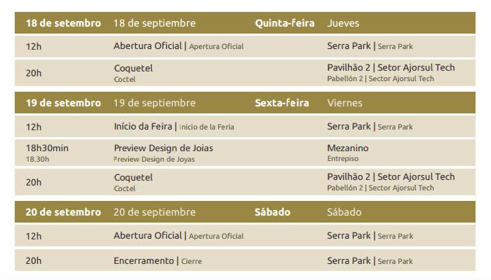 Ajorsul Fair Mercooptica 2014 Gramado programacao