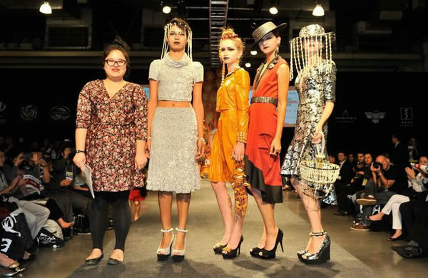 Jessica Jin vence concurso Novos Designers Brasil na Go Tex Show 2014