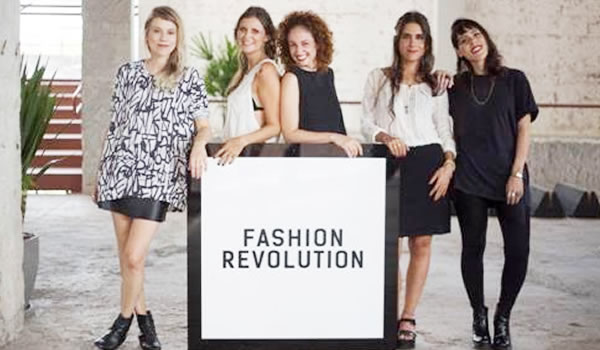 Eloisa Artuso - Marina de Luca - Ana Sudano - Fernanda Simon - Mariana Lombardo - Fashion Revolution Brasil