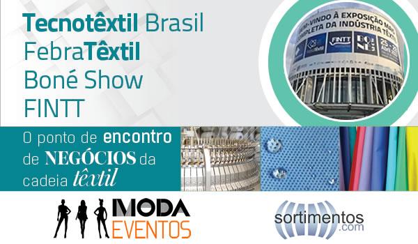 FCEM Febratex Group vai realizar simultaneamente Tecnotêxtil Brasil, FebraTêxtil, FINTT e Boné Show no Anhembi