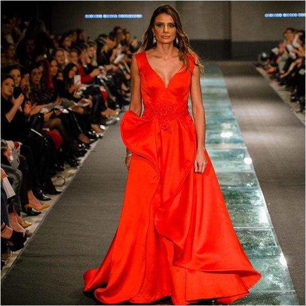 Desfile de vestidos atelier Silvia Fregonese