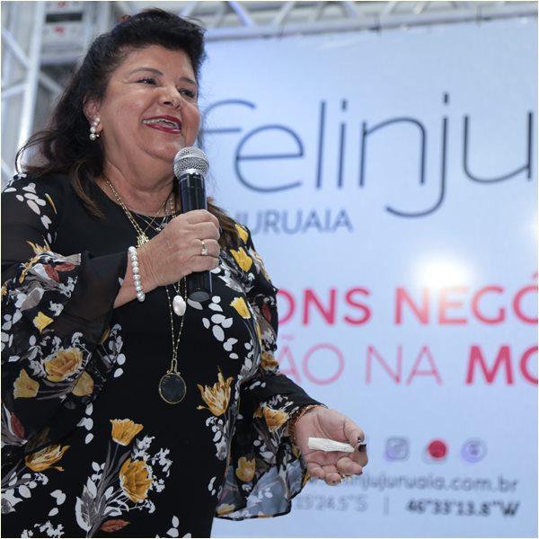 Luiza Helena Trajano na Felinju em Juruaia - foto Viola Jr