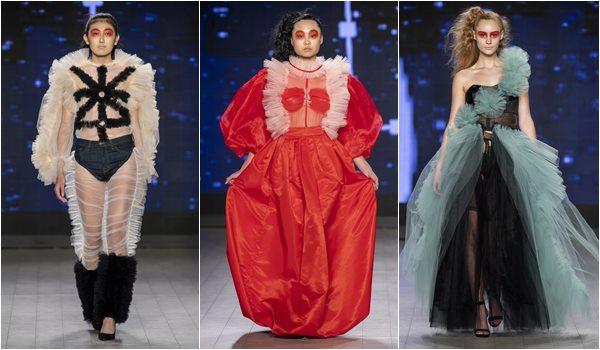 Desfile Asha Singh na VFW - Vancouver Fashion Week SS 202
